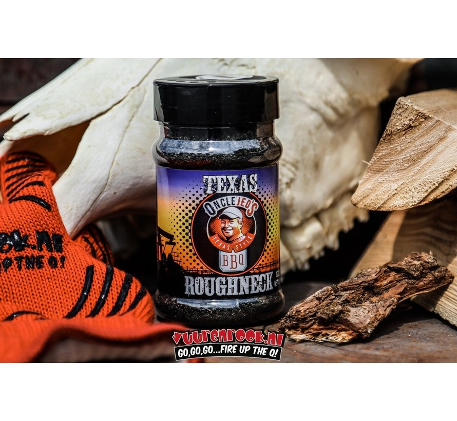 Oncle Jed's Roughneck Charcoal Rub 7.7oz