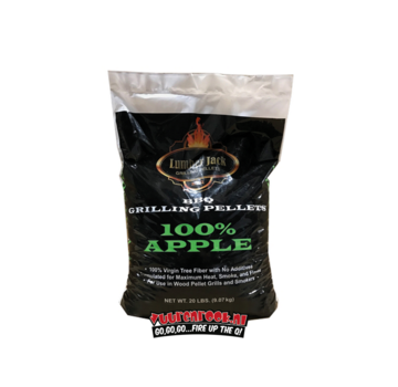 Lumberjack Lumberjack Apple BBQ Pellets 9 kilos