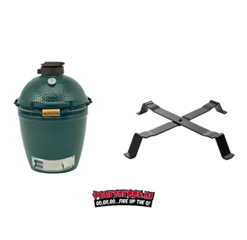 Big Green Egg Big Green Egg Medium + Table Nest