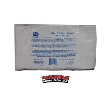 Lotta Bull Lotta Bull University of Que Party Fowl Poultry Brine and Injection 12oz