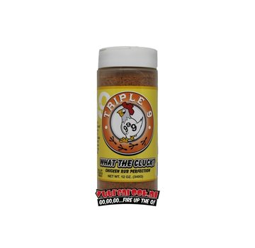 Triple 9 Swine Triple 9 What The Cluck Chicken Rub 12oz