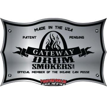 Gateway Die Original Gateway Logo Plate aus rostfreiem Stahl