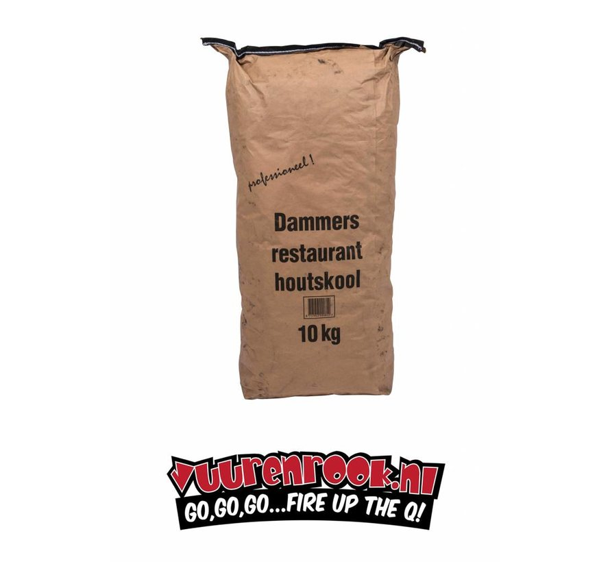 Transport Damage: Vuur&Rook South African Premium Lump Charcoal 100% Black Wattle by Dammers 10 kg