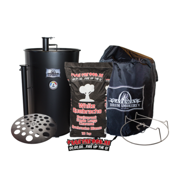 Blues Hog Edition Gateway Drum Smoker - 55 Deal 1