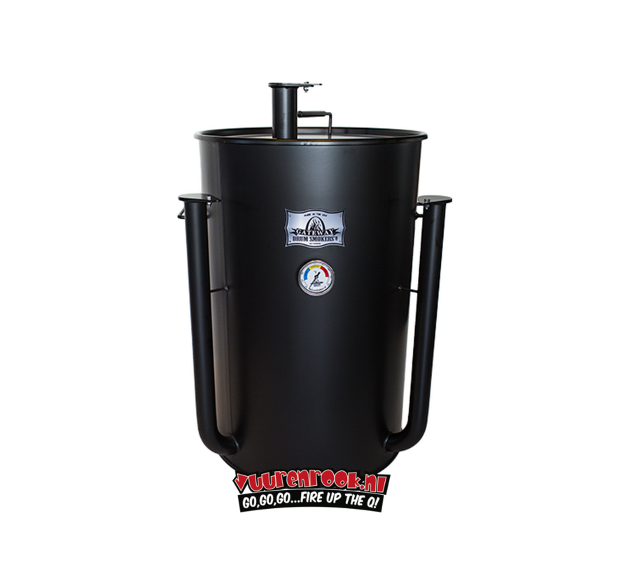 Blues Hog Edition Gateway Drum Smoker - 55 Deal 1