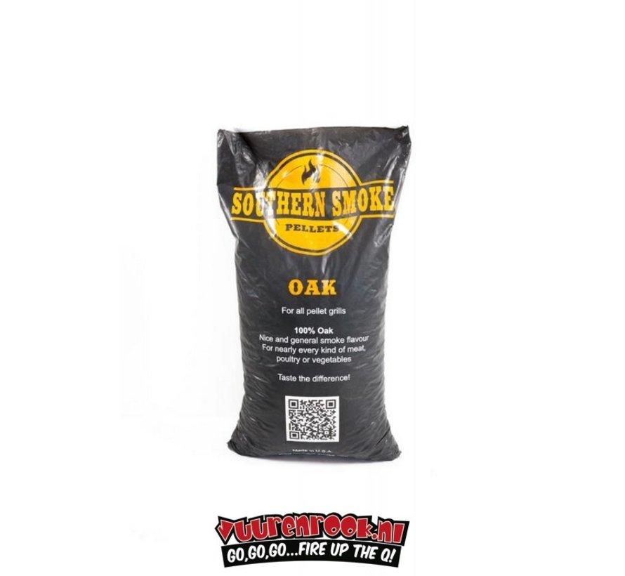 Southern Smoke Eiken BBQ Pellets 9 kilo