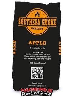 Southern Smoke Southern Smoke Appel BBQ Pellets 9 kilo