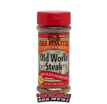 Old World Fire Roasted Creations Old World Steak Rub 6oz