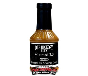 Ole Hickory Pits Ole Hickory Pits Mustard 2.0 Sauce 17.8oz