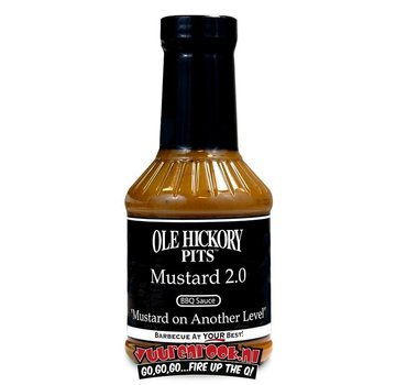 Ole Hickory Pits Ole Hickory Pits Mustard 2.0 Sauce 17.8oz
