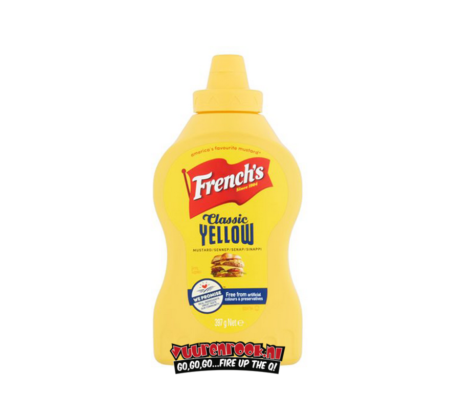 French's Classic Yellow Mustard 397 gram