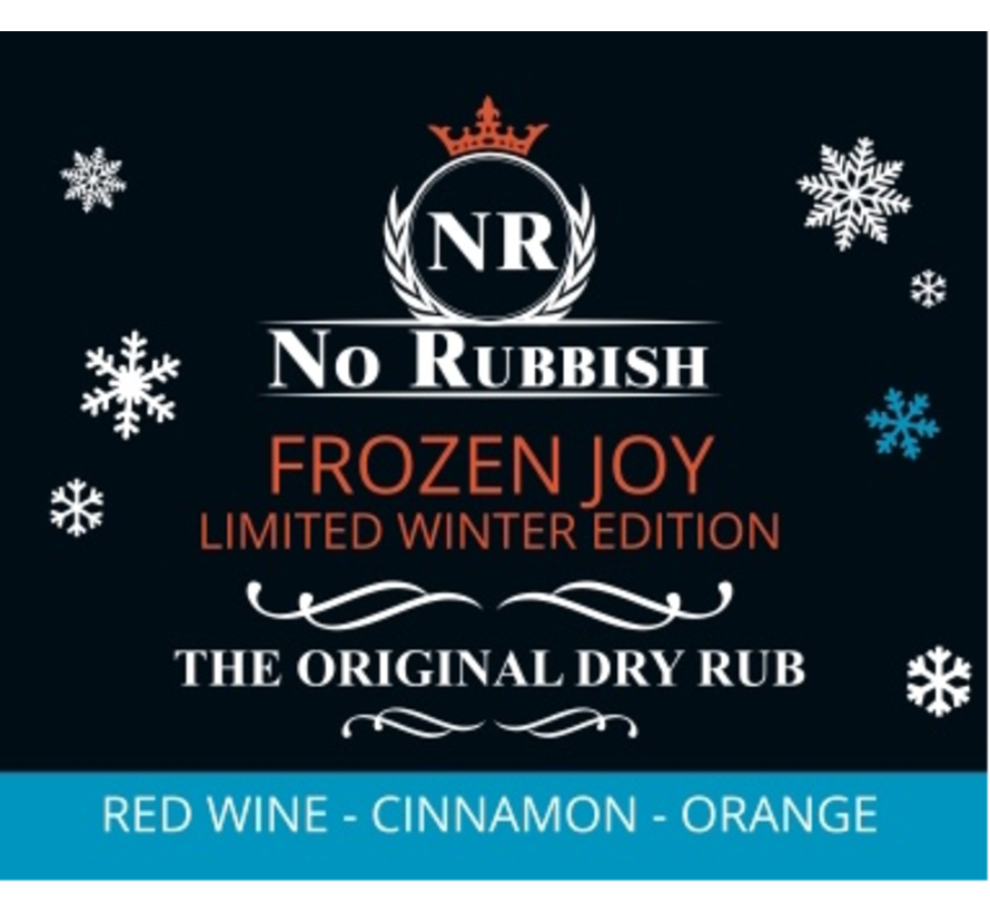 No Rubbish Frozen Joy LIMITED WINTER EDITION 200 gram