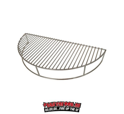 Stainless steel Expansion grid for 57 cm Kettle BBQs