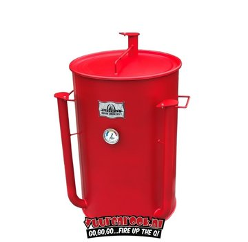 Gateway Gateway Drum Smoker - 55 Gallon Matte Red No Plate