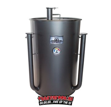 Gateway Gateway Drum Smoker - 55 Gallon Matte Charcoal No Plate