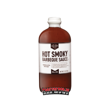 Lillie's Q Lillie's Hot Smoky BBQ Sauce 21oz