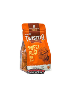 Twist'd Q Twist'd Q Sweet Heat Rib Rub 6oz
