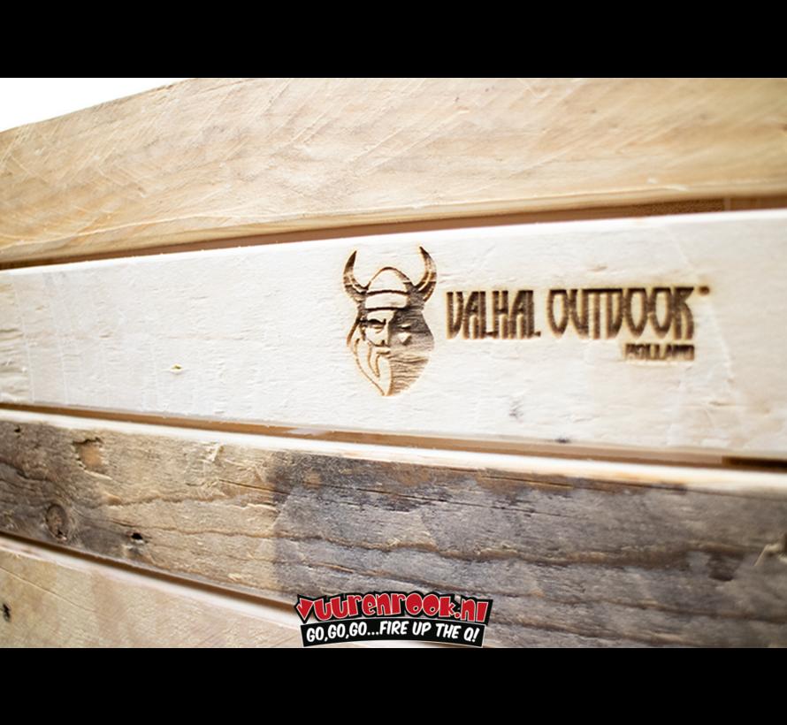 Valhal Outdoor Holz Aufbewahrungsbox