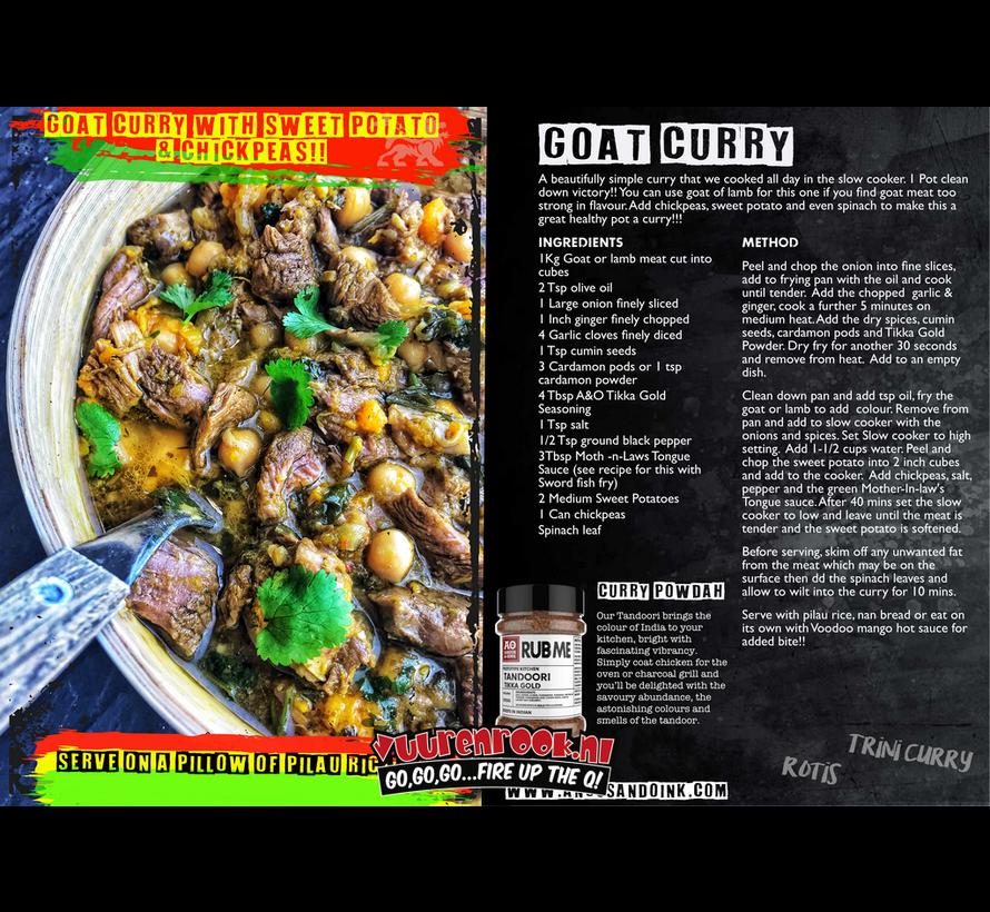 Angus&Oink (Rub Me) Tandoori Seasoning 200 gram