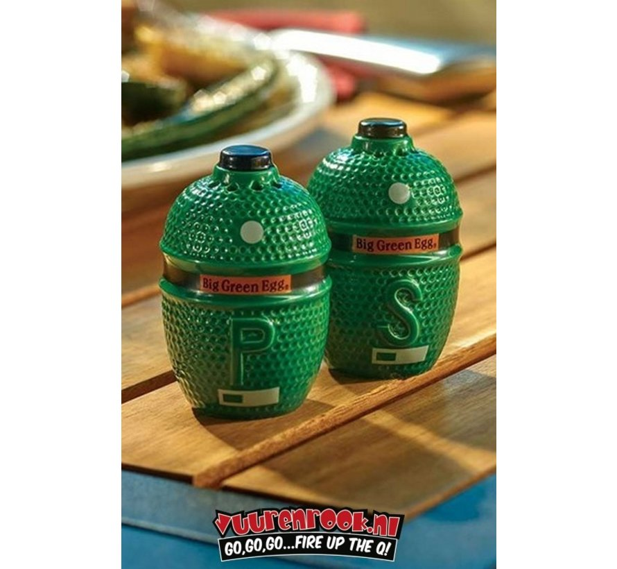 Big Green Egg Pepper & Salt Shakers