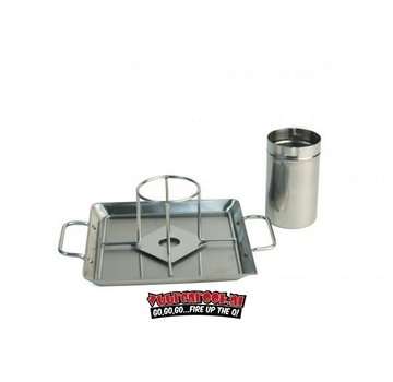 Steven Raichlen Steven Raichlen Stainless Beer Can Chicken Roaster