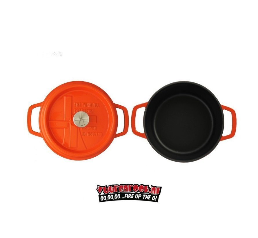 The Windmill Premium Emaille BBQ Pan Deal