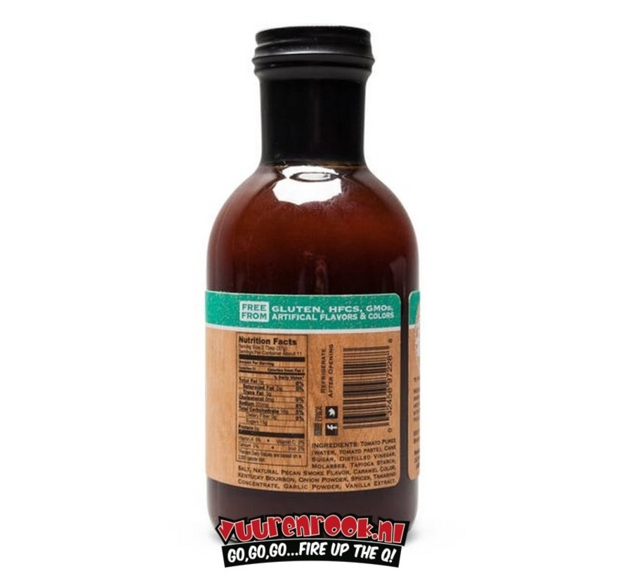 Kettlewood Combustion Co Pecanwood Smoke & Bourbon Vanilla BBQ Sauce