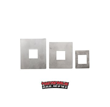 Flame Boss Flame Boss Adapter Plates Kamado (3 pieces)