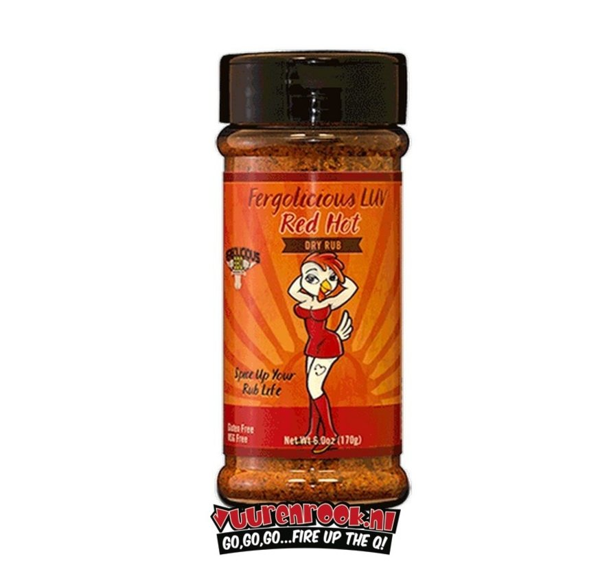 Fergolicious Red Hot Dry Rub