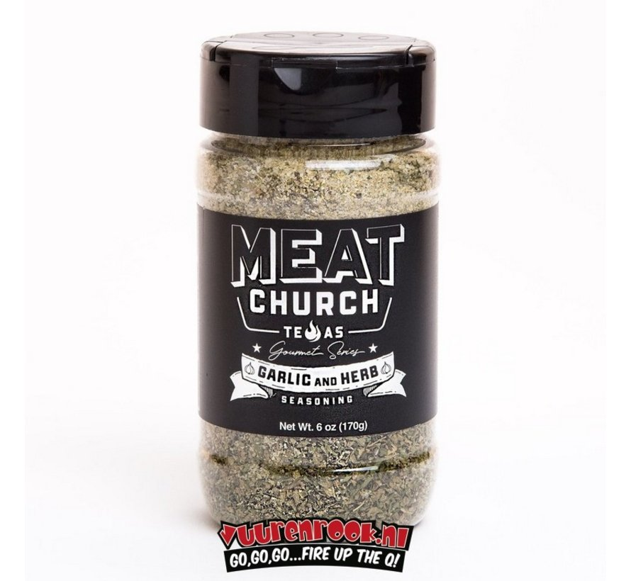 Meat Church Garlic & Herb Seasoning