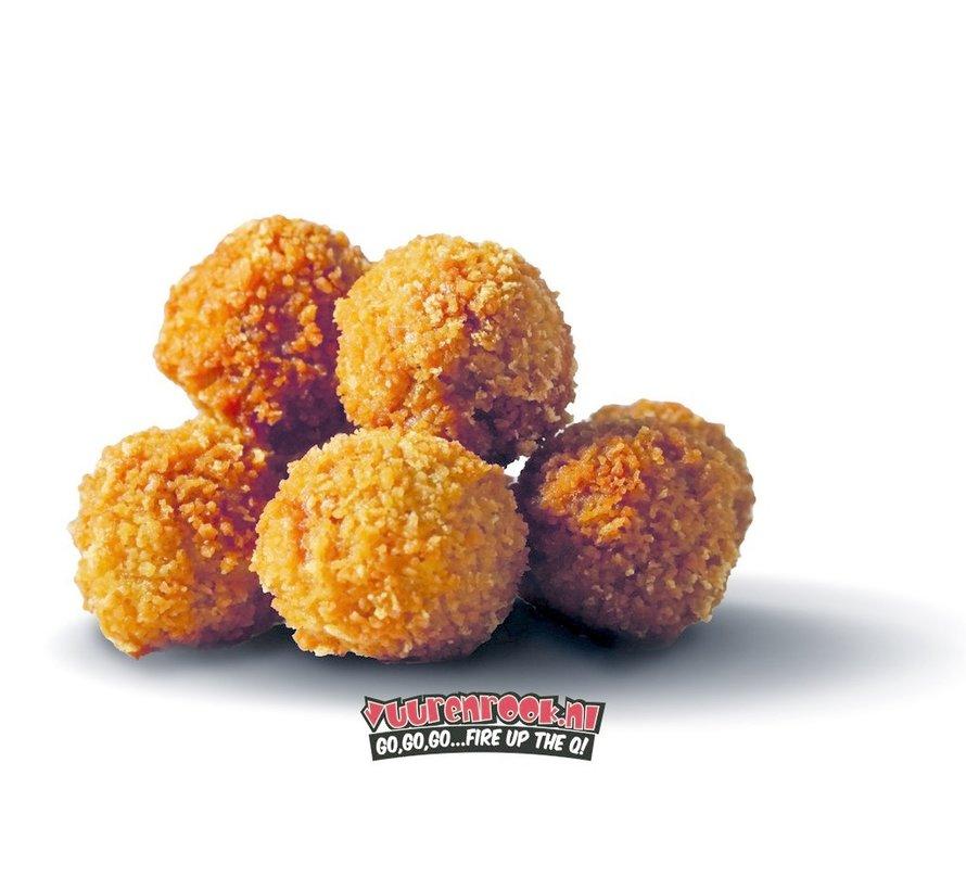 Pulled Pork Balls 54 stuks