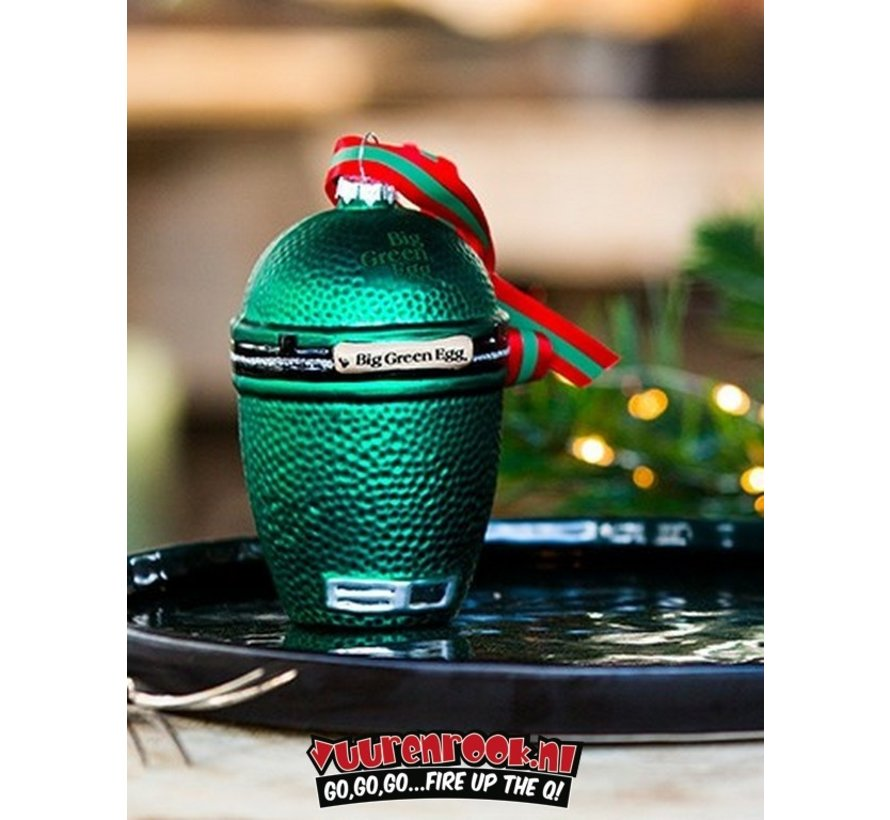 Big Green Egg Kerstbal