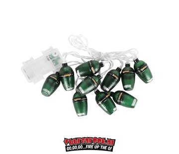 Big Green Egg Big Green Egg Christmas lights