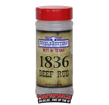 SuckleBusters SuckleBusters 1836 Beef Rub 12 oz