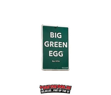 Big Green Egg Big Green Egg Aluminium Muurbordje Recht
