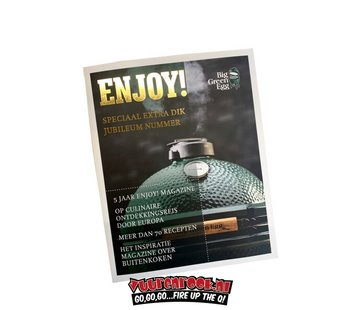 Big Green Egg Big Green Egg Enjoy Jubileum Magazine