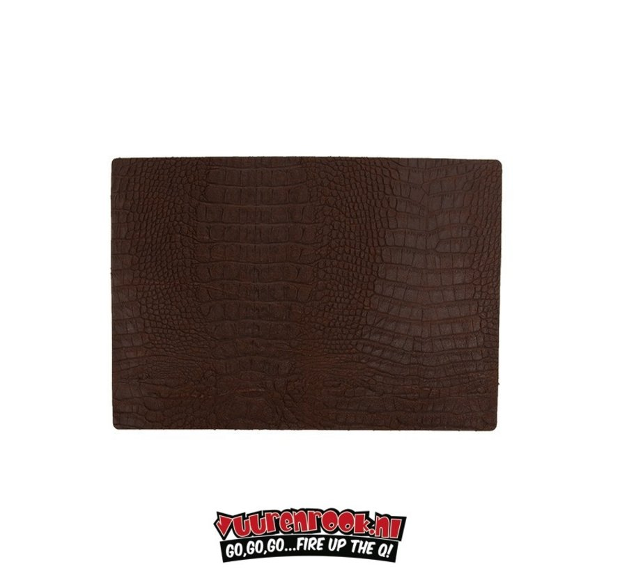 Xapron Placemat Caiman Brown 4 pieces