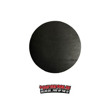 Xapron Xapron Coasters Round Cuba Black 4 pieces
