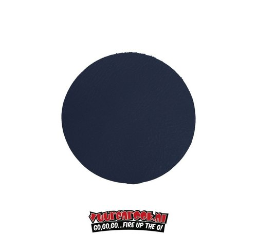 Xapron Xapron Coasters Round Cuba Blue 4 pieces