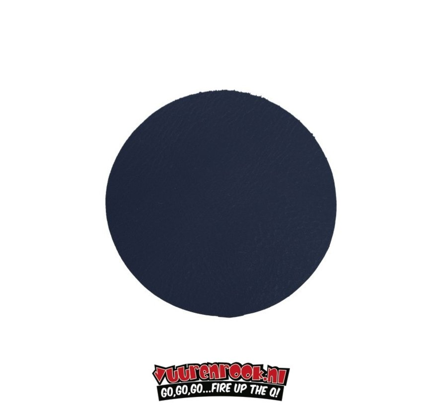 Xapron Coasters Round Cuba Blue 4 pieces