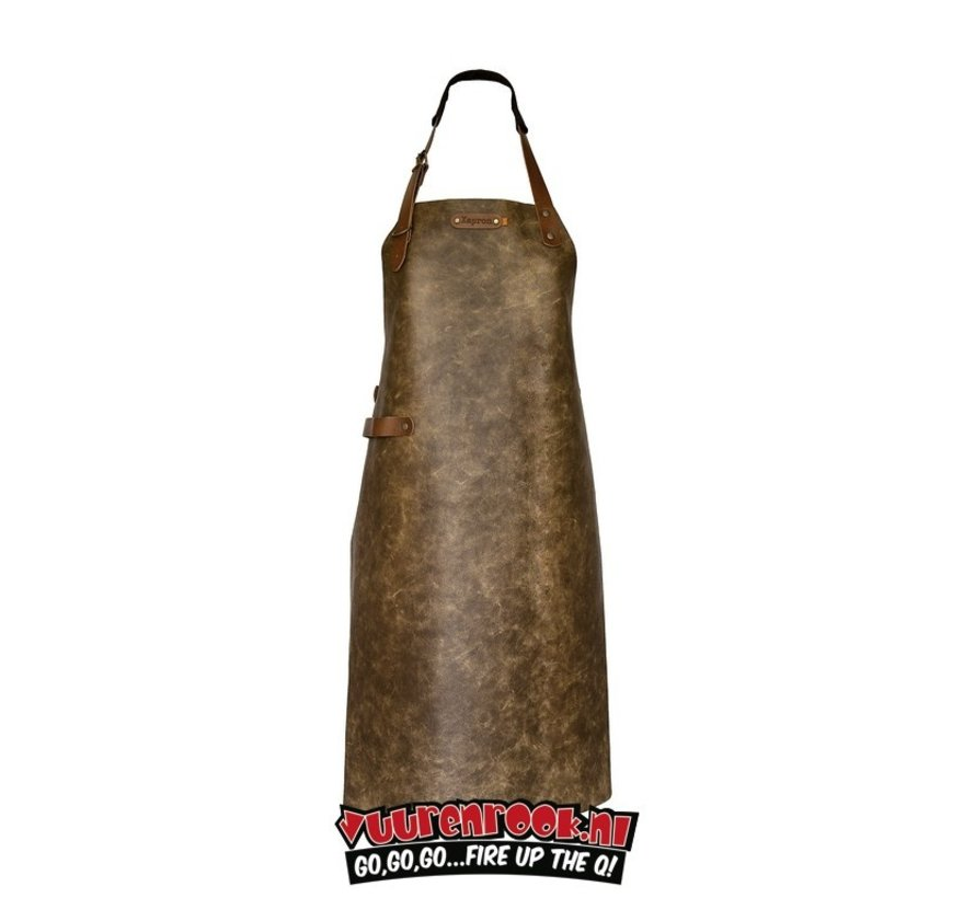 Xapron Apron Atlanta Camel with Shoulder Strap