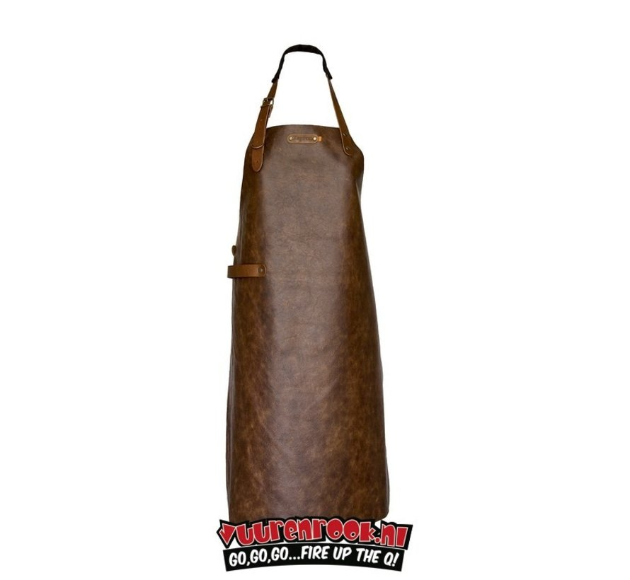 Xapron Apron Atlanta Brandy with Shoulder Strap