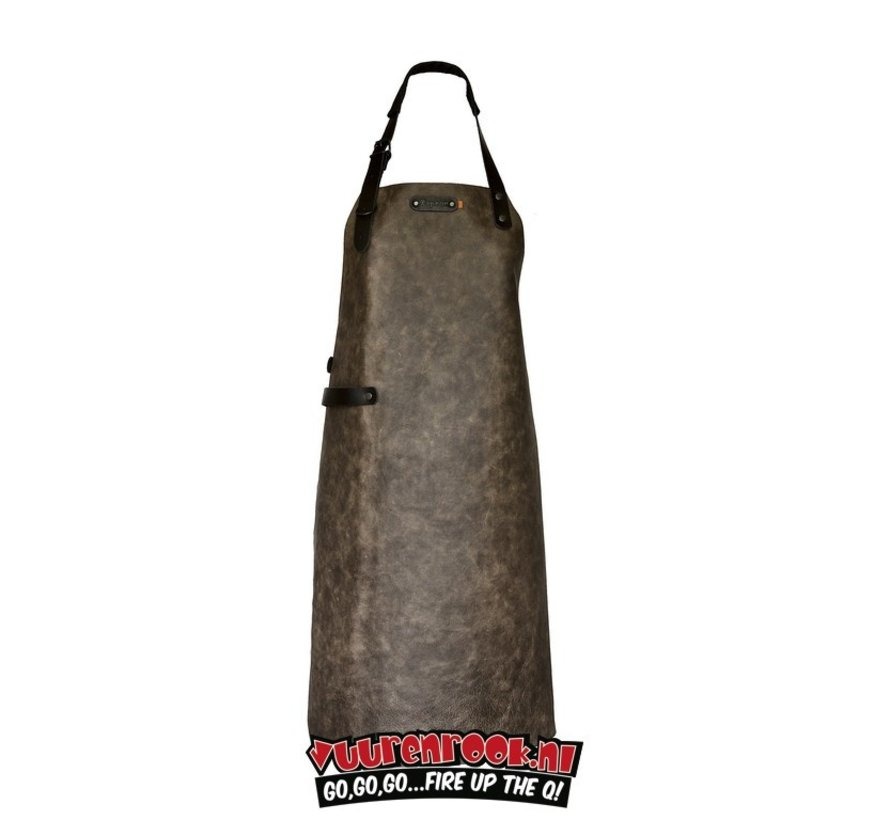 Xapron Apron Atlanta Taupe with Shoulder Strap