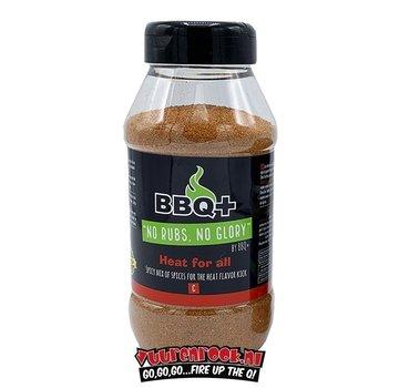 BBQ + BBQ + Heat For All BBQ Rub XL 600 gram