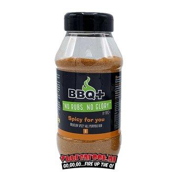BBQ + BBQ + Spicy For You BBQ Rub XL 600 grams
