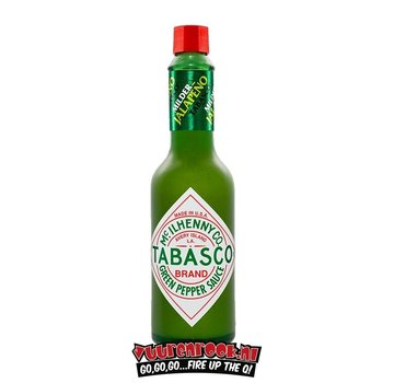 Tabasco Tabasco Green Pepper Sauce Mild 150 ml