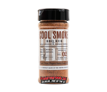 Cool Smoke Tuffy Stone Cool Smoke BBQ Rub
