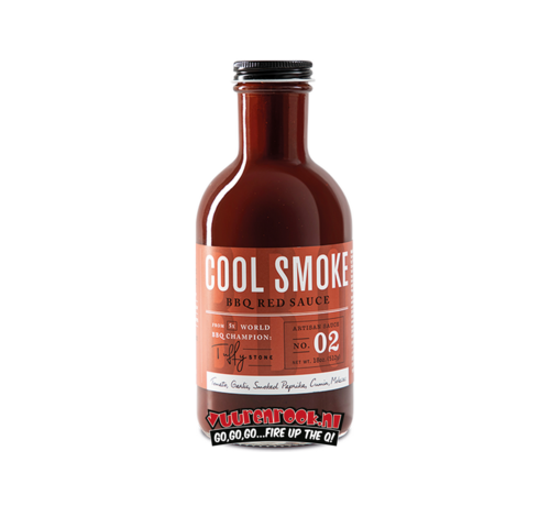 Cool Smoke Tuffy Stone Cool Smoke BBQ Red Sauce