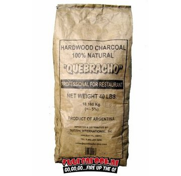 Vuur&Rook Transport Damage: Vuur&Rook Original Argentina Red Quebracho Lump Charcoal 10 kg