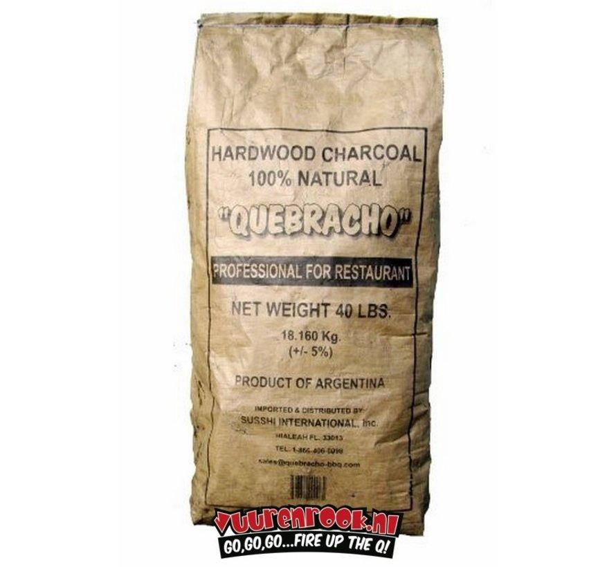 Transport Damage: Vuur&Rook Original Argentina Red Quebracho Lump Charcoal 10 kg